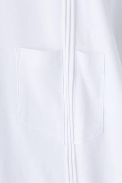 HIGH STREET∴60/1スムースピンタック半袖Vネック