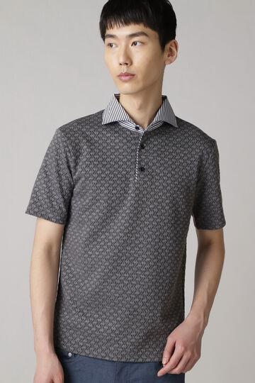 HIGH STREET∴ふくれJQ半袖ポロシャツ