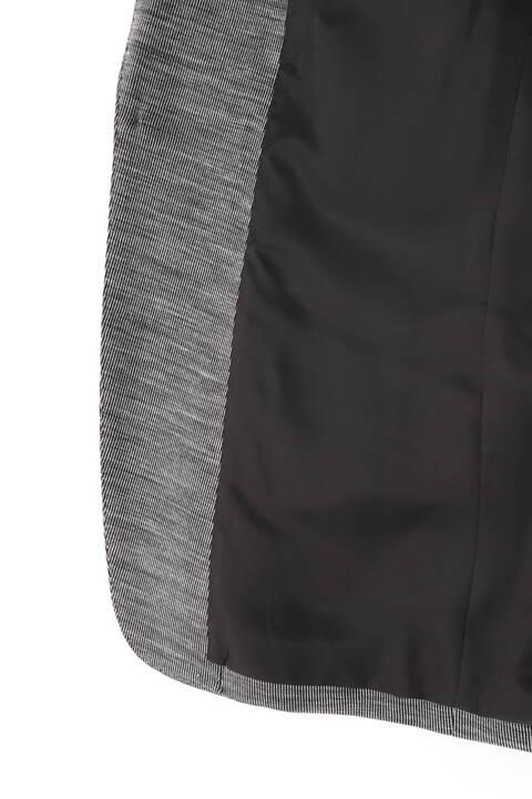 HIGH STREET∴綿麻ストライプジャージジャケット