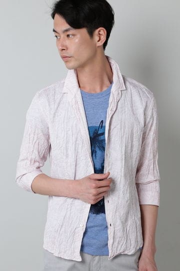 HIGH STREET∴ボタニカル刺し子JQシャツ