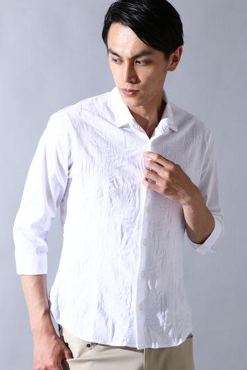 HIGH STREET∴パームツリーJQコンビ7分袖シャツ