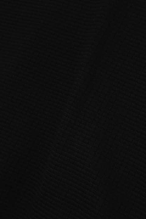 HIGH STREET∴ブロックニット2枚衿ポロシャツ