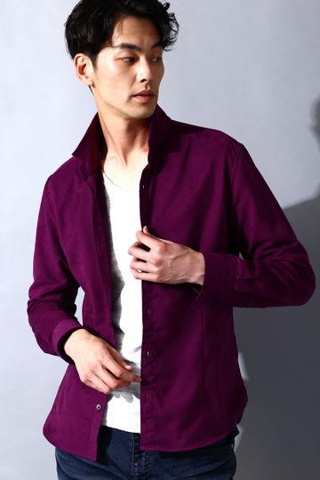 HIGH STREET スエードショートウイングシャツ