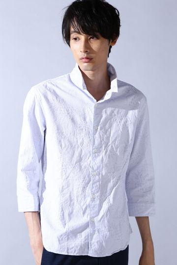 HIGH STREET∴パイン刺し子JQ7分袖シャツ
