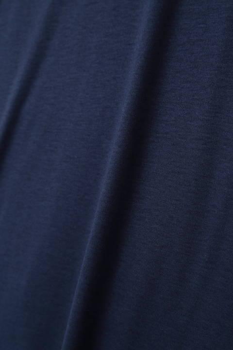 HIGH STREET∴シルフィースムースVネック長袖カットソー