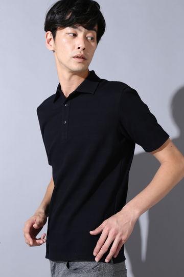 HIGH STREET∴リンクスボーダー半袖ポロシャツ