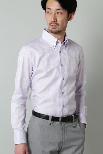 HIGH STREET∴千鳥JQワンピースBDシャツ