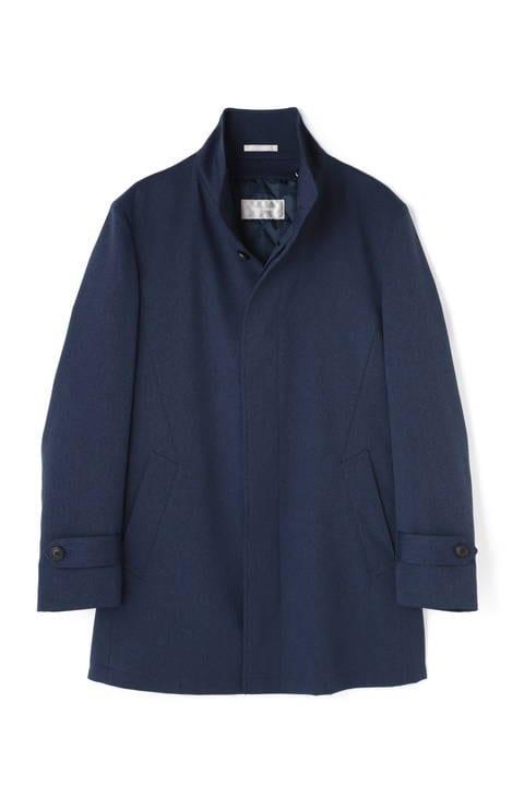 HIGH STREET∴中綿ライナー付スタンドカラーコート