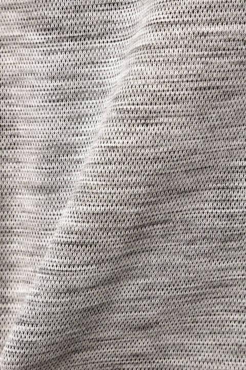 HIGH STREET∴メランジ綿麻Wフェースイージーパンツ