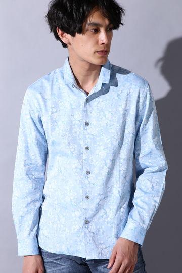 【ドラマ着用商品】HIGH STREET∴花柄ジャガードシャツ