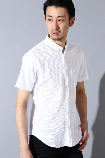 HIGH STREET∴リンクスコンビ半袖シャツ