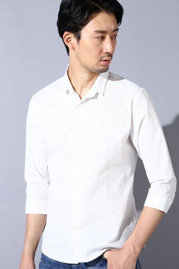 HIGH STREET∴サッカー7分袖ショートウイングシャツ