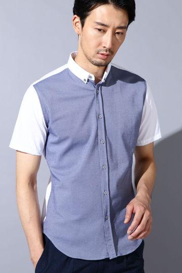 HIGH STREET∴サーフニットコンビ半袖シャツ