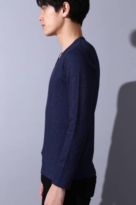 HIGH STREET∴T/C楊柳長袖カットソー