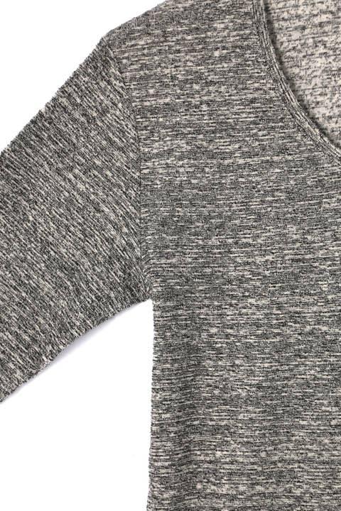 HIGH STREET∴ランダムパイル長袖カットソー