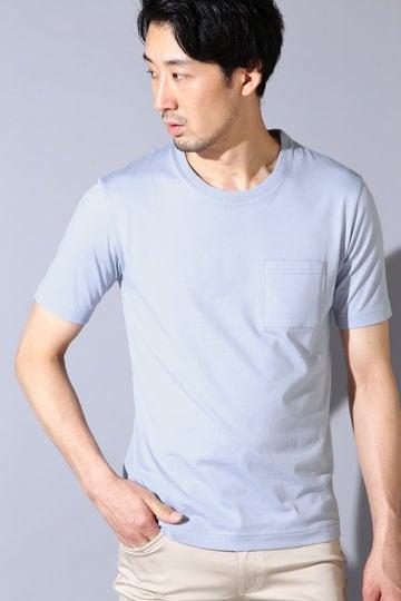 HIGH STREET∴ALBINI半袖クルーポケT