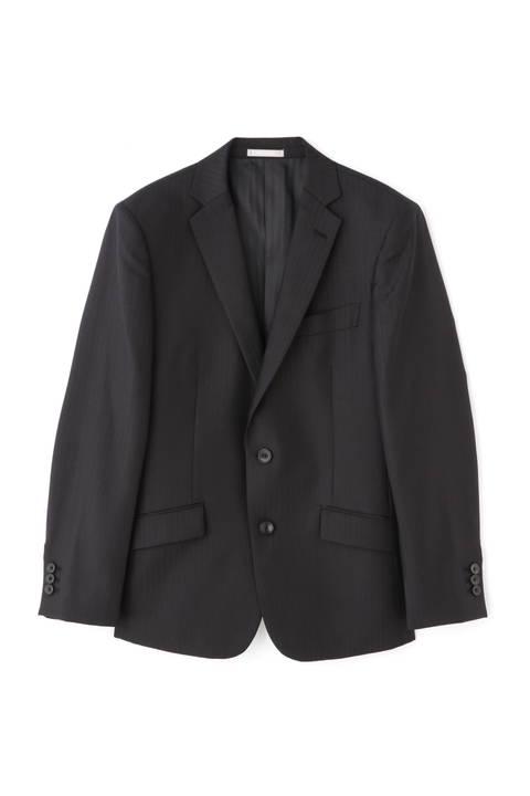 HIGH STREET∴BRITH WOOLシャドーストライプスーツ