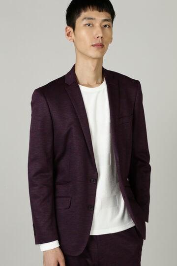HIGH STREET∴麻綿Wフェースジャージジャケット