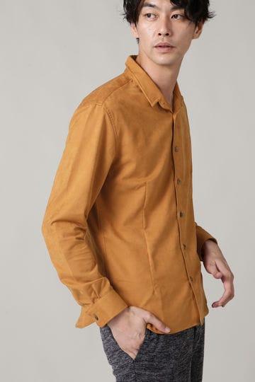 スエードショートウイングシャツ
