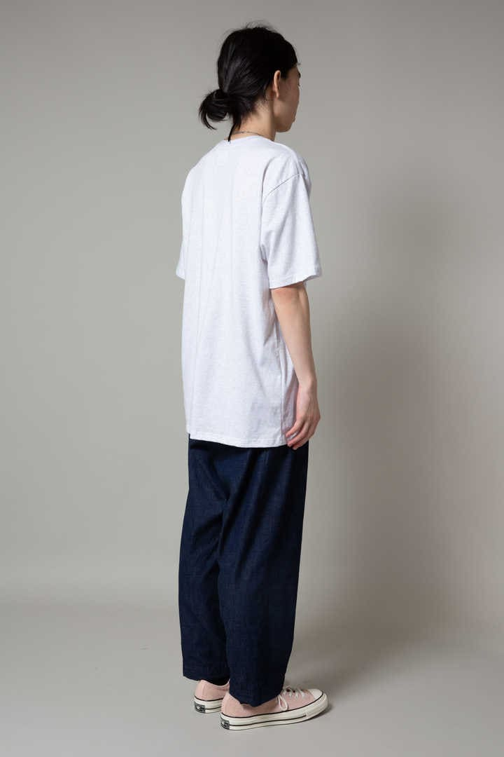 TUCK 02/TROUSERS.COTTON.DENIM