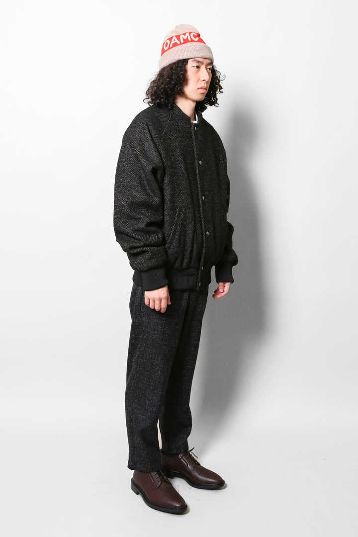 ACCADEMY BOMBER TWILL BOUCLE