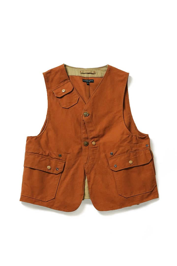 UPLAND VEST-12OZ DUCK CANVAS