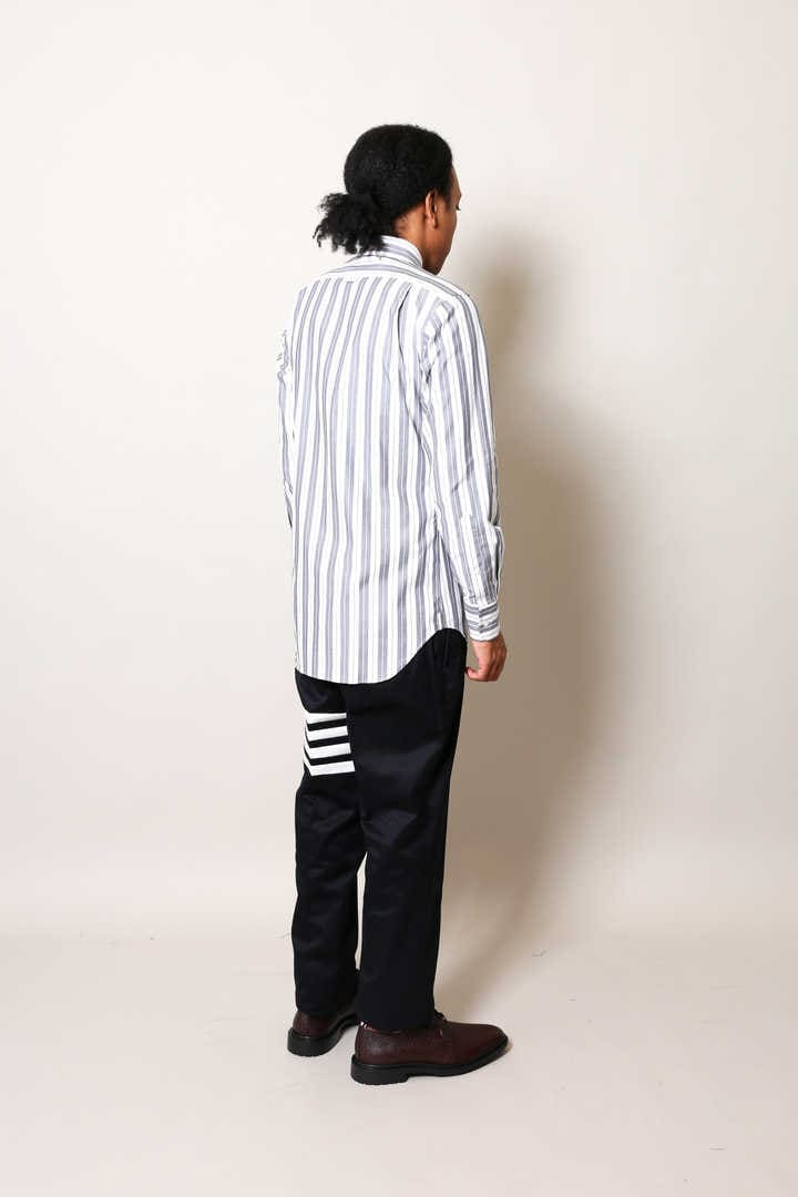 CLASSIC POINT COLLAR STRIPE