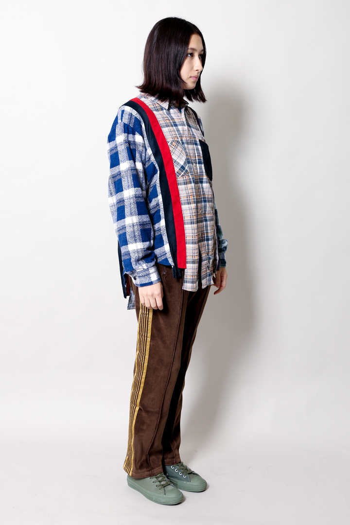 FLANNEL SHIRT-INSERTED4 CLUTHS