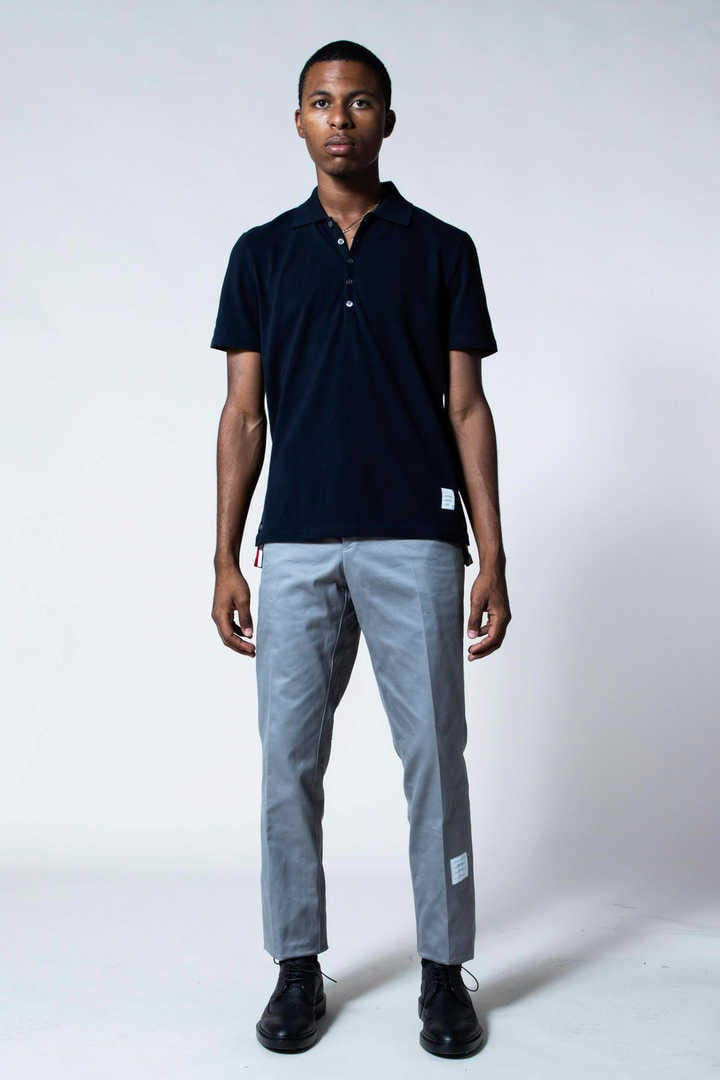 UNCONSTRUCTED CHINO TROUSER