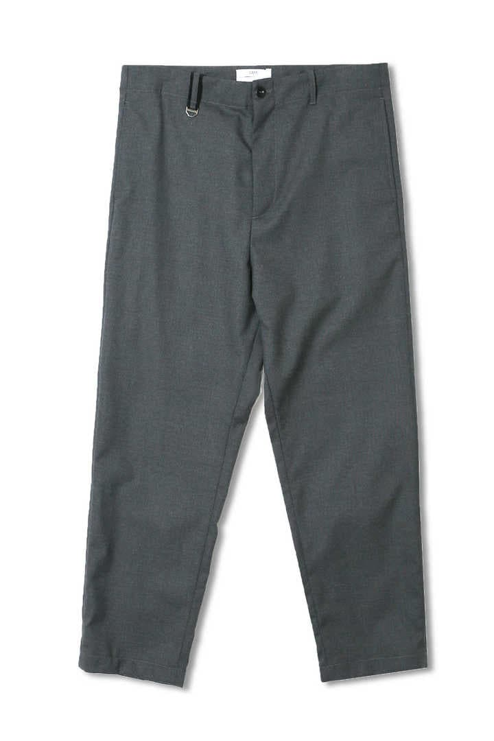 CROPPED ZIP PANT WOOL