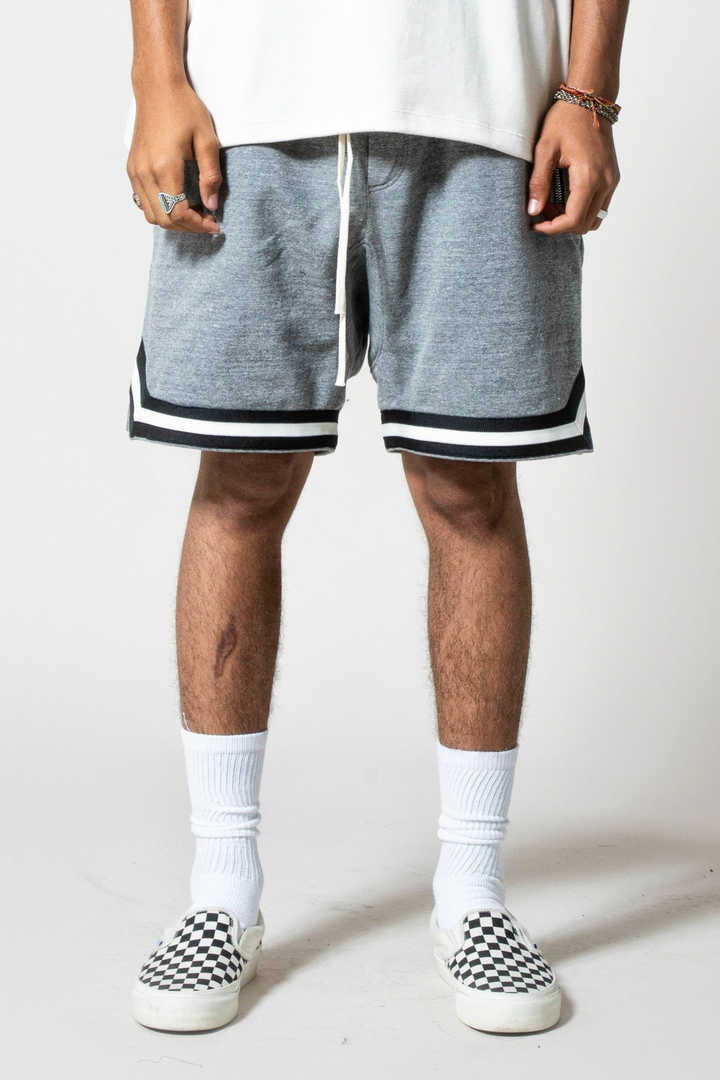 FRENCH TERRY B BALL SHORTS