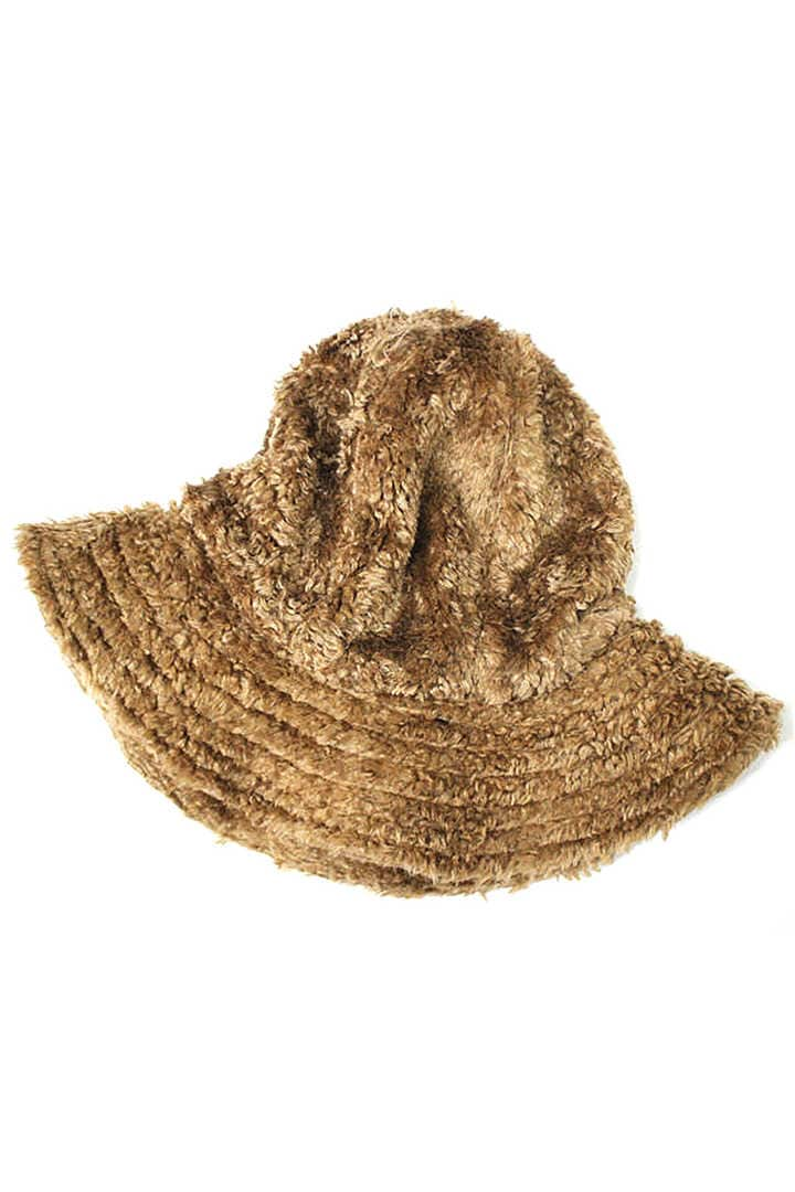 DOME HAT-CURLY FUR