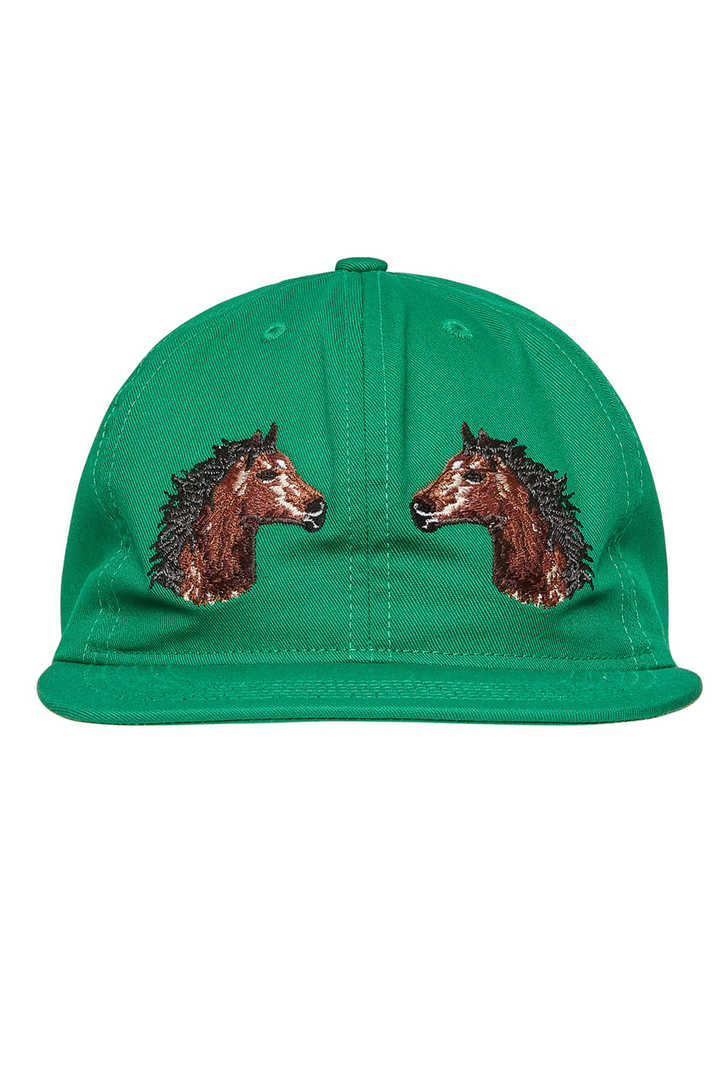TWO HORSES HAT