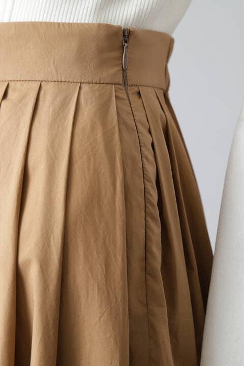 タイプライター2WAYプリーツロングスカート