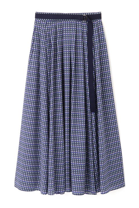 【先行予約 6月下旬-7月上旬入荷予定】《Ele NB》Circle Printスカート