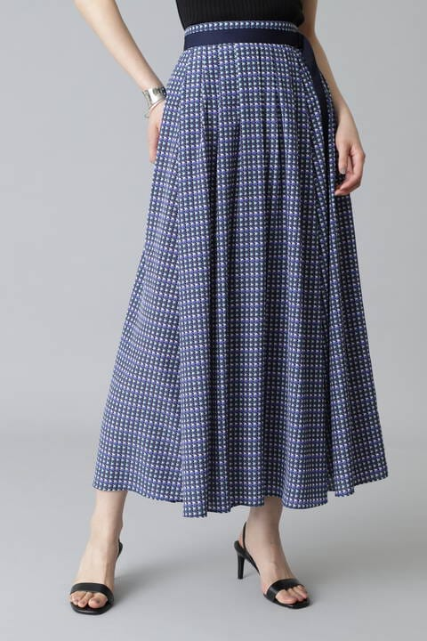 《Ele NB》Circle Printスカート