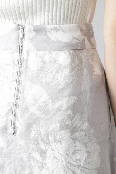 《Ele NB》Chic Fleur Print スカート