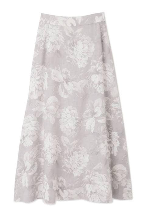 【先行予約 6月下旬-7月上旬入荷予定】Chic Fleur Print スカート