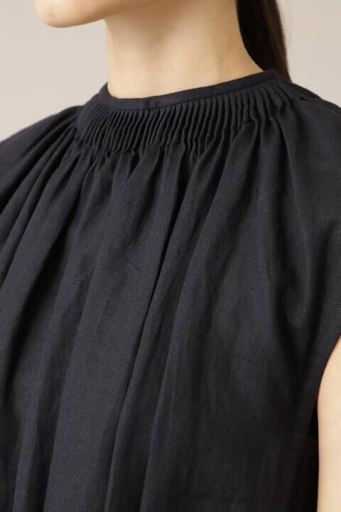 《Ele NB》リネンロングドレス