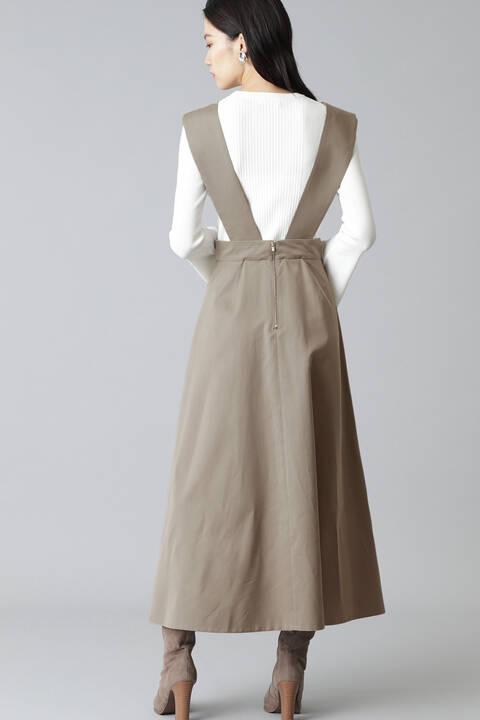 フレアージャンプスカート