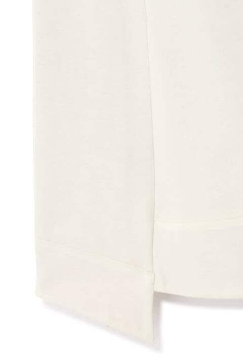 ウール圧縮スムースフレアスカート