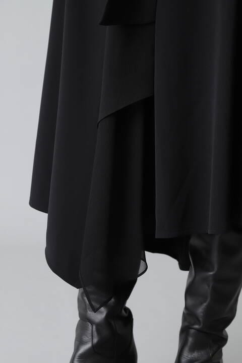 《Ele NB》異素材ドッキングスカート