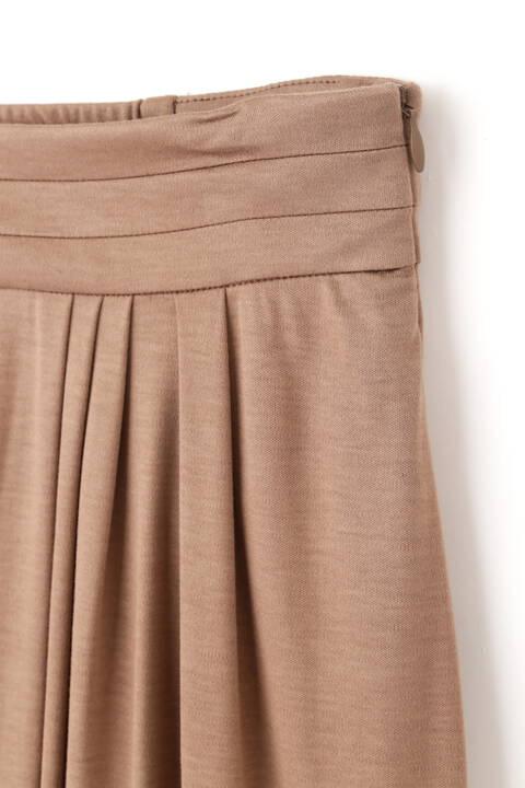 サイドギャザージャージースカート