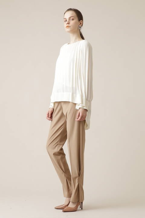 裾デザインパンツ