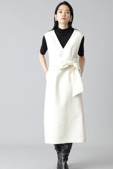 《Ele NB》シルクウールツイルジャンパースカート