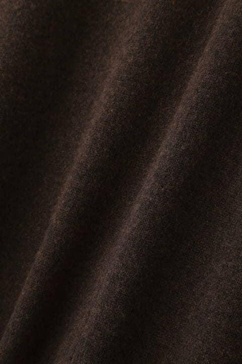 【11月中旬-下旬入荷予定】ウールナイロンドルマンスリーブニットワンピ
