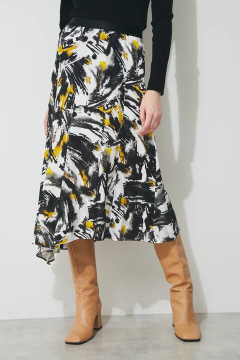アシンメトリースカート