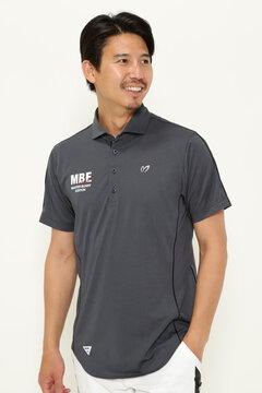 メッシュ ストレッチ 半袖 ポロシャツ(MENS)