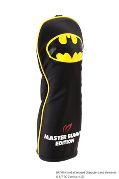 BATMAN フェアウェイウッド用 ヘッドカバー <MASTER BUNNY EDITION & BATMAN> (UNISEX)