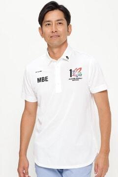 スペースマスター UV 半袖 カノコ ポロシャツ (MENS)<上田プロ×MASTER BUNNY EDITION>